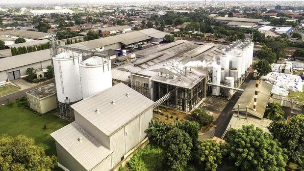 Area pabrik Bali Hai, Tambun, Bekasi, Jawa Barat.