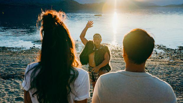 Keseruan Dimas dan Nadine di Selandia Baru