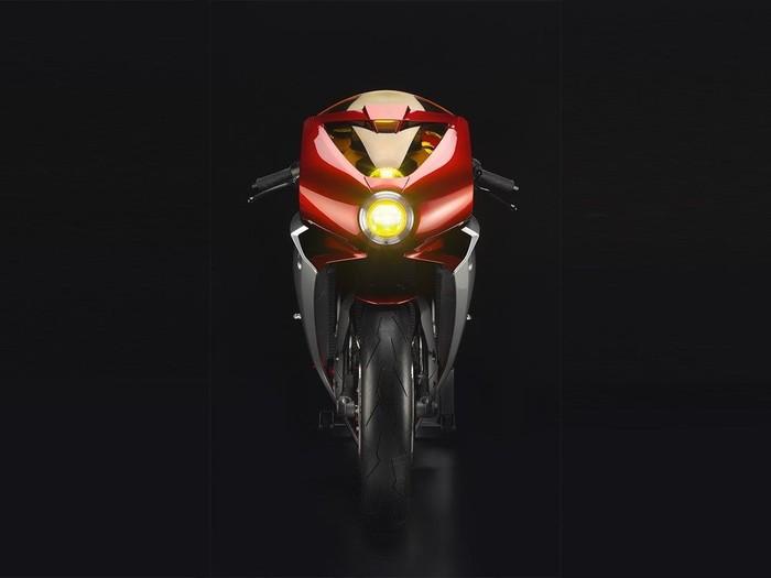 MV Agusta menyebut motor konsep ini sebagai Superveloce 800. Motor ini dibuat untuk membangkitkan memori orang kepada legenda 'Meccanica Verghera'.