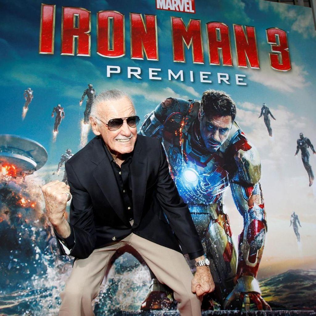 RIP Stan Lee, Wariskan Superhero Sarat Teknologi dan Sains