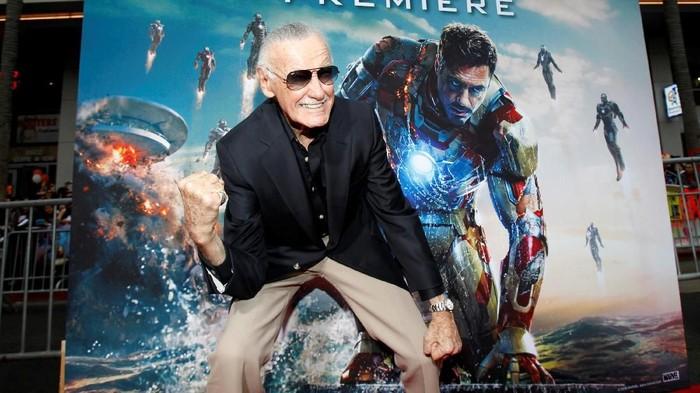 RIP Stan Lee, salah satu yang ia wariskan adalah superhero yang kisahnya sarat teknologi dan sains (Foto: Mario Anzuoni/Reuters)