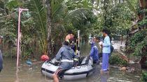 1.200 Jiwa Terdampak Banjir Luapan Sungai Cikidang Pangandaran