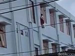 Videonya Viral, Begini Kondisi Bocah yang Jatuh dari Lantai 3