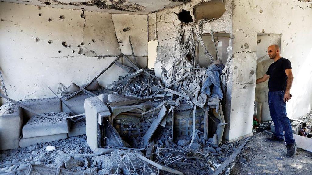 Israel Digempur Roket Palestina