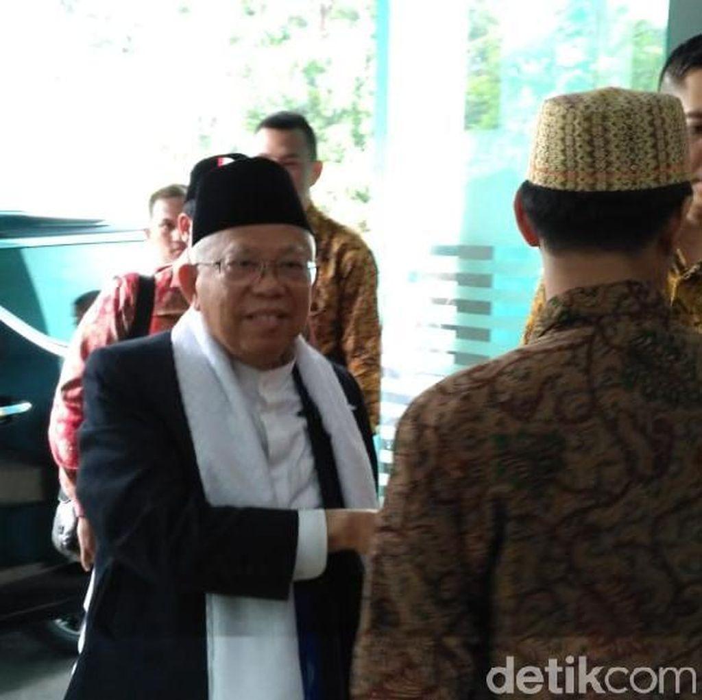 Maruf Amin Hadiri Rapat MUI, Bahas Keutuhan Bangsa Jelang Pilpres