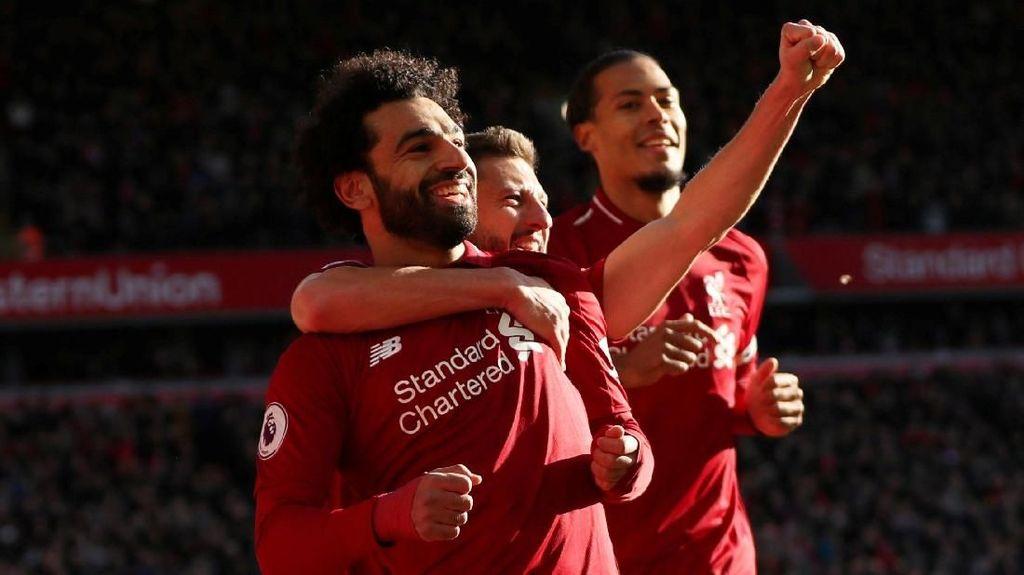Liverpool Tak Terpengaruh dengan Laju Kencang City