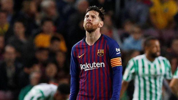 Nilai klausul pelepasan Lionel Messi masih kalah besar dari Brahim Diaz. (