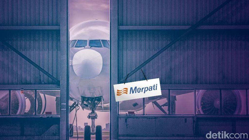 Garuda Mau Gandeng Merpati Kerja Sama Bengkel Pesawat