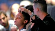 Petuah Ronaldo kepada Putranya: Semua Berkat Kerja Keras, Bukan Jatuh dari Langit