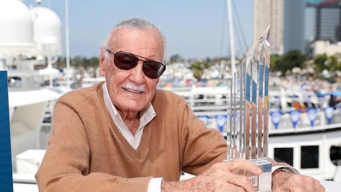 Stan Lee meninggal dunia, Netizen pecinta #Marvel berduka. Foto: Rich Polk/Getty Images for IMDb