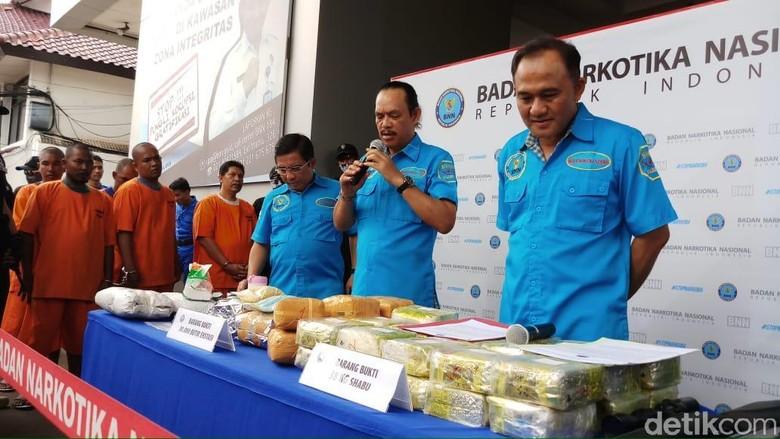 BNN Kembali Tangkap 2 Orang Jaringan Sabu Eks Anggota DPRD NasDem