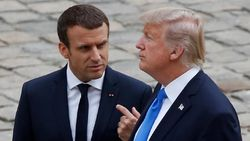 Sindir Macron, Trump: Make France Great Again
