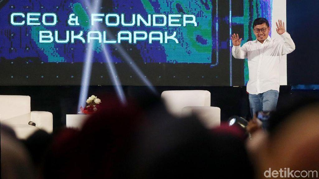 CEO dan Pendiri BukaLapak: Jangan Cuma Mikir Cari Investor