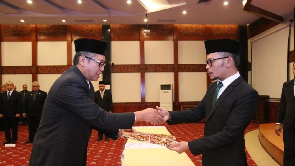 Tingkatkan Kinerja Kementerian, Hanif Lantik Pejabat Baru