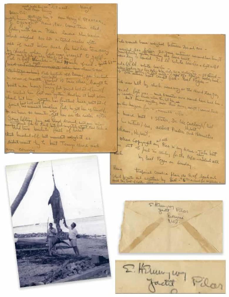 Arsip Novel Old Man and the Sea Dilelang Rp 414 Juta Foto: Nate D.Sanders Auction House