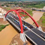Rampung, Jembatan Kalikuto Diuji Beban 36 Truk