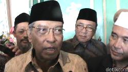 Sandi Minta Maaf Langkahi Makam, Said Aqil: Harusnya ke Keluarga