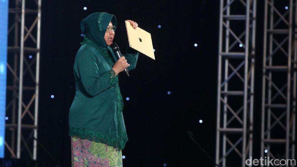 Risma Bakar Semangat Peserta InnoCreativation Surabaya