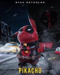 Iseng, Fans Buat Meme 'Detective Pikachu' Imut Berubah Jadi 'Deadpool'