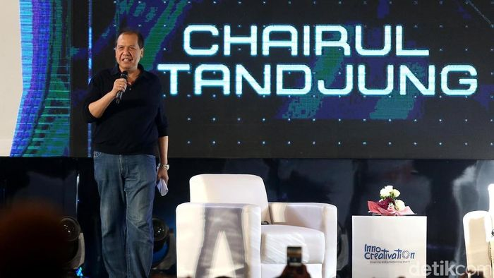 Founder and Chairman CT Corp, Chairul Tanjung/Foto: Ari Saputra