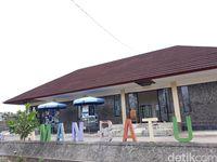 Bangunan Etalase Taman Batu (Pradito Rida Pertana/detikTravel)