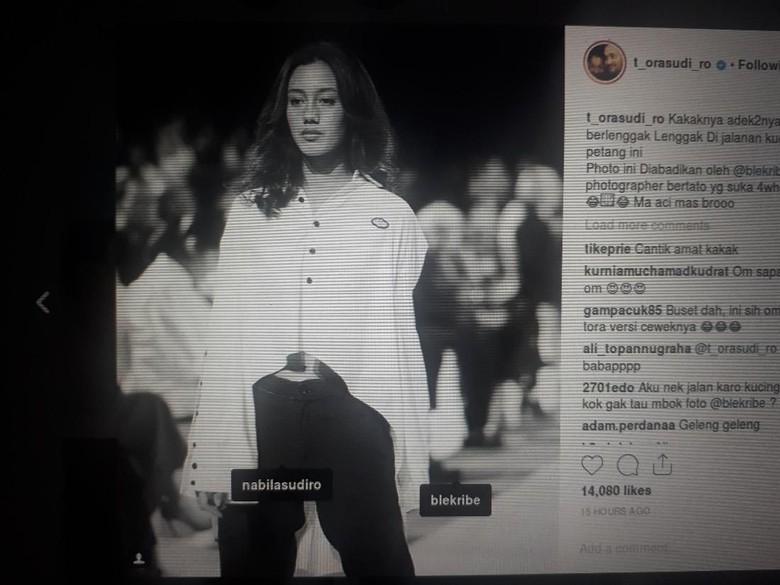 Foto: Nabila Sudiro (Repro Instagram Tora Sudiro)