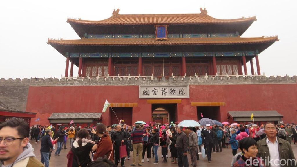 Lautan Manusia di Forbidden City, Ikonnya China