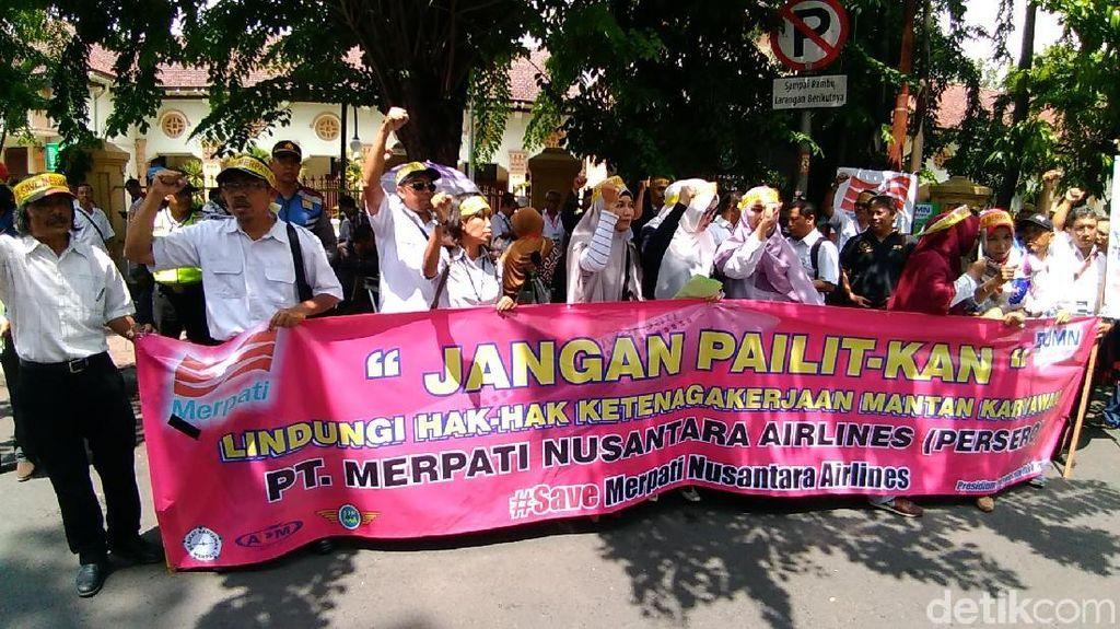 Mantan Karyawan Merpati Tuntut Perusahaannya Beroperasi Kembali