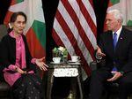 Wapres AS ke Suu Kyi: Kekerasan pada Rohingya Tak Bisa Dibenarkan
