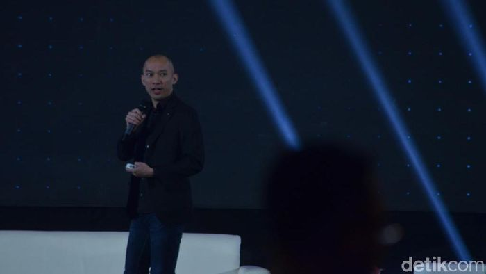 Foto: Senior Director of Business Development at Tencent International Business Group Benny Ho (Dana Aditiasari)