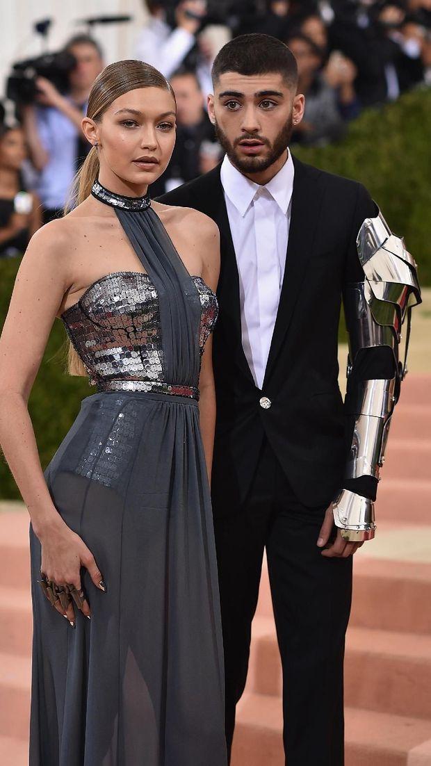 Zayn Malik dan kekasihnya, Gigi Hadid.
