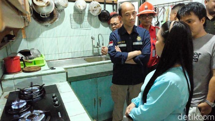 Wamen ESDM meninjau Jaringan Gas di Tarakan (Foto: Sofyan Ali)