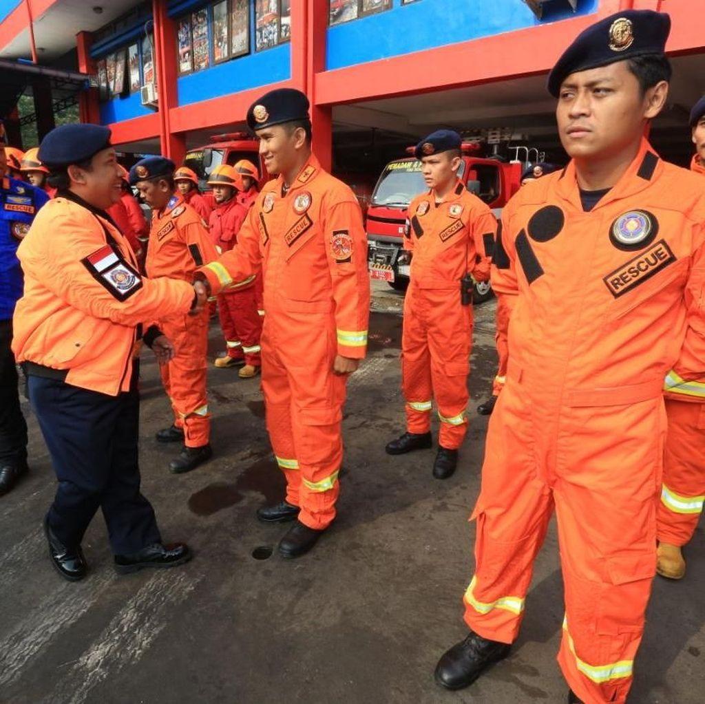 Waspada Bencana, 160 Pasukan Diskar Bandung Siaga 24 Jam