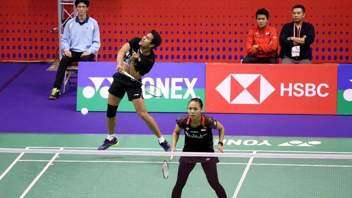 Jalani debut di Hong Kong Terbuka 2018, Tontowi Ahmad/Della Destiara Haris langsung tersingkir di babak pertama (Foto: dok. Humas PBSI)