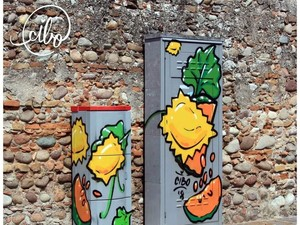 Keren! Seniman Ini Bikin Street Art dengan Tema Makanan Ciamik
