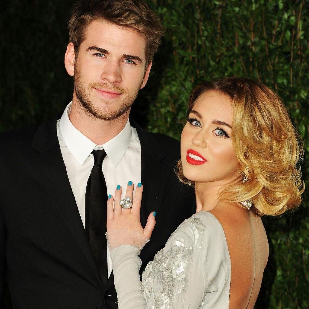 Rumahnya Terbakar, Miley Cyrus dan Liam Hemsworth Malah Sumbang Rp 7 M