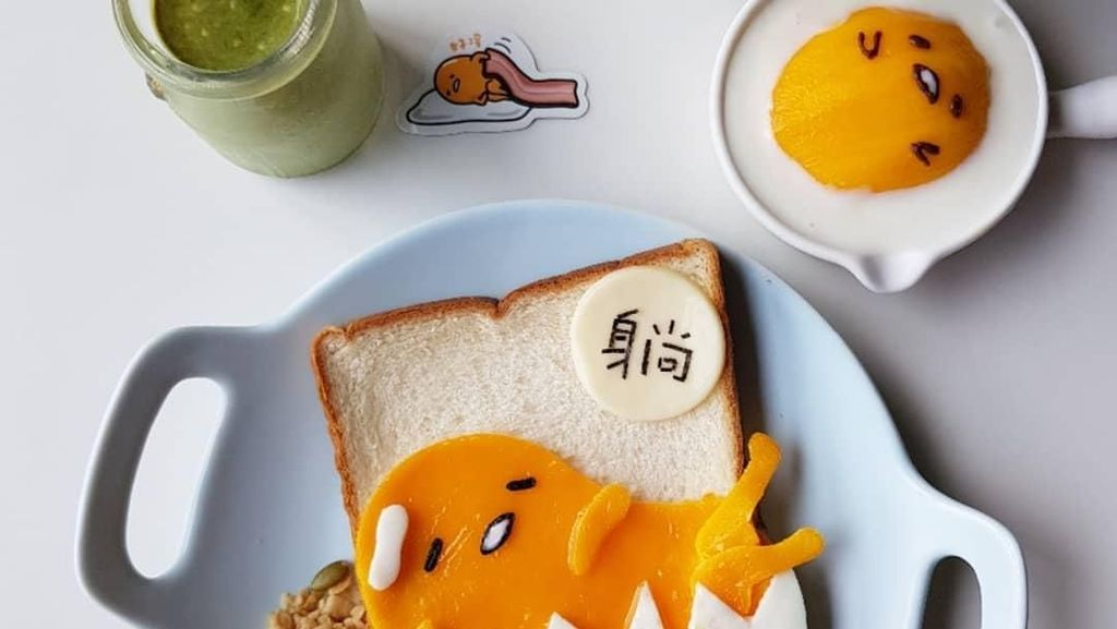 Kreatif, Ilisa Liu Racik Makanan Anak Menjadi Bentuk Karakter Lucu