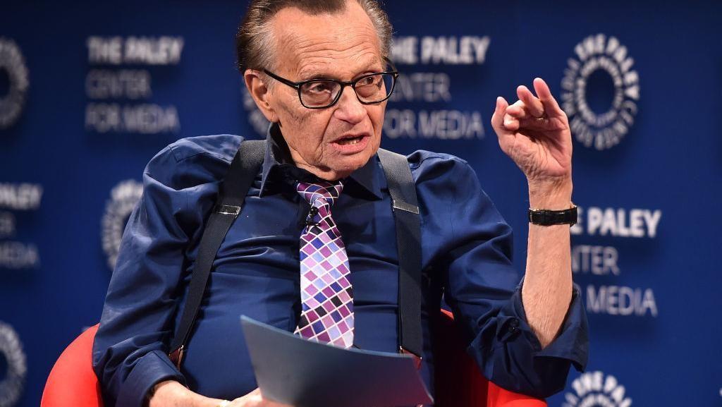 Larry King Meninggal di Usia 87 Tahun