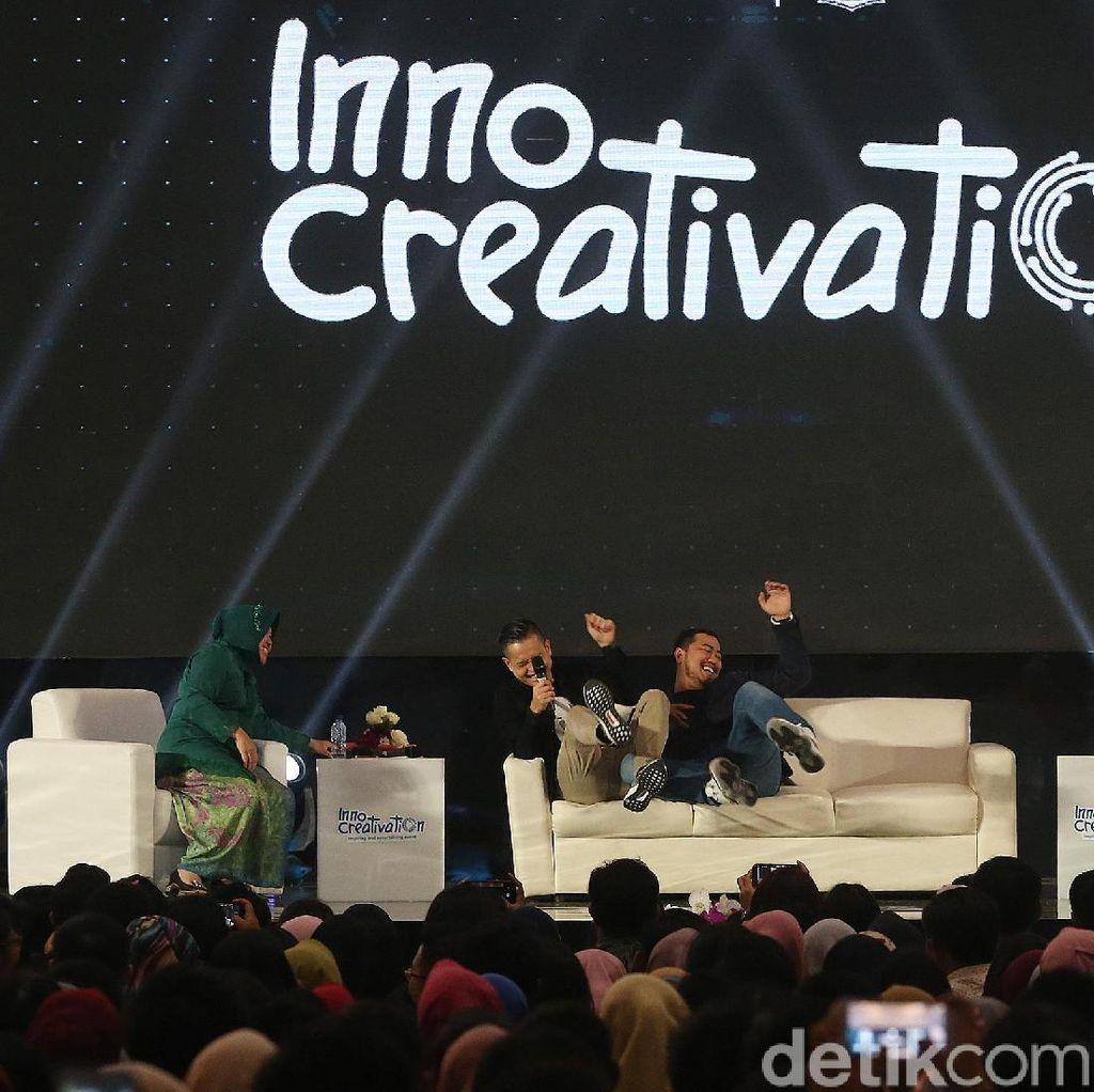 Pecah Abis! Trio Komika Ernest, Panji & Bu Risma Mengocok Perut