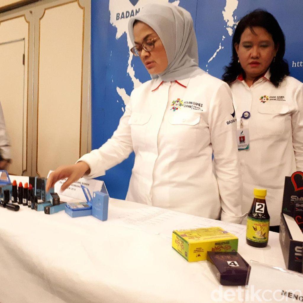 Ini Sanksi BPOM untuk Produsen Obat dan Kosmetik Ilegal