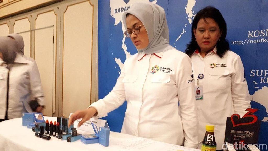 BPOM Sita Rp 134 M Obat dan Kosmetik, Jamu Hingga Pensil Alis Berbahaya