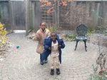 Momen Bahagia Bocah Korban Konflik Afrika Melihat Salju