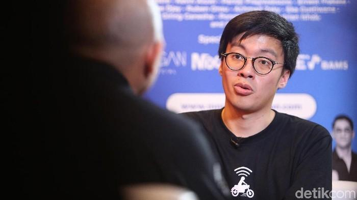 Co Founder & CIO Gojek Indonesia, Kevin Aluwi./Foto: Ari Saputra