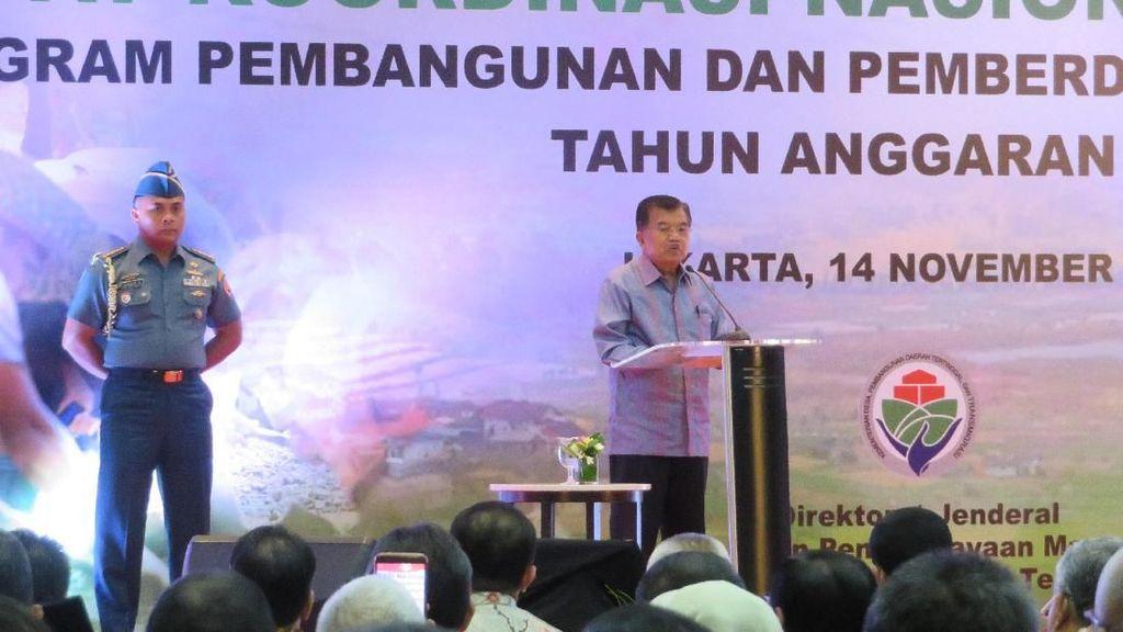 JK: Dana Desa Dapat Dipakai Beli Bibit Unggul untuk Petani