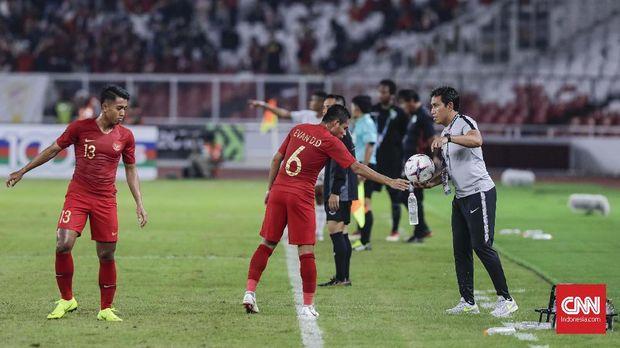 Timnas Indonesia berhasil meraih kemenangan atas Timor Leste.