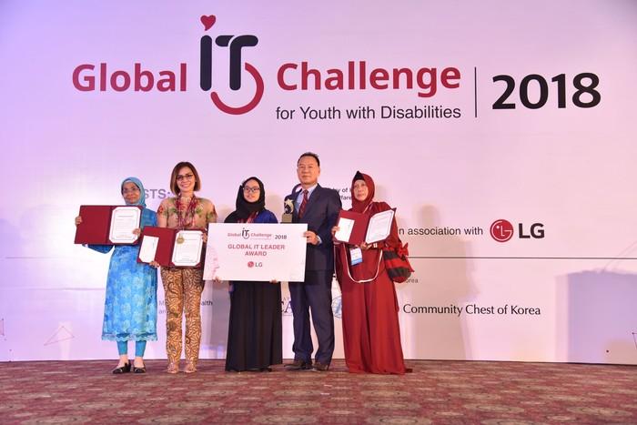Fayza Putri Adila jadi peserta terbaik. Foto: LG