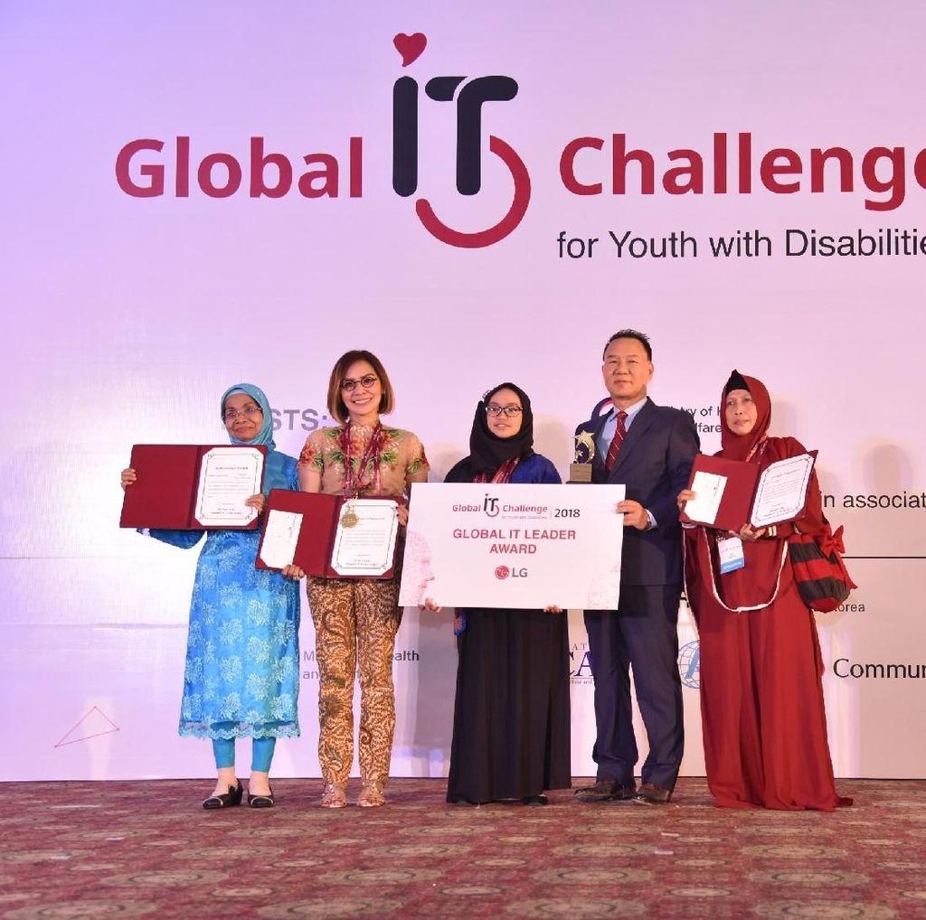 Jago MS Office, Remaja Disabilitas Indonesia Juara Dunia
