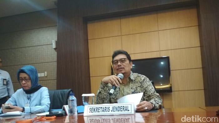 Sekjen Kementerian Keuangan Hadiyanto/Foto: Hendra Kusuma/detikFinance