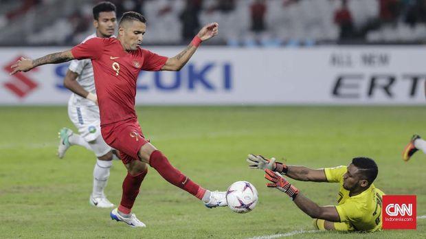 Beto Goncalves baru mencetak satu gol di Piala AFF 2018.