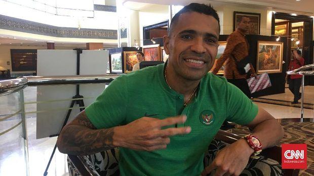 Beto Goncalves berhasil mencetak gol saat Timnas Indonesia mengalahkan Timor Leste.